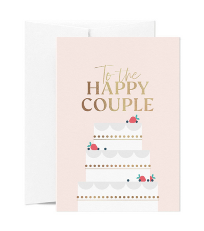 Card Nest - 'To The Happy Couple' Greetings Card