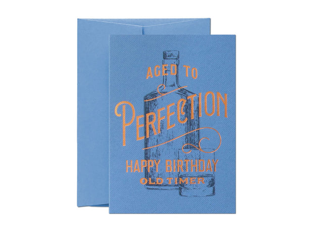 Card Nest - 'Aged to Perfection' Greetings card
