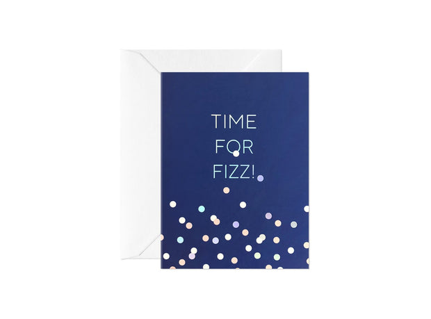 Card Nest - 'Time for Fizz' Greetings card