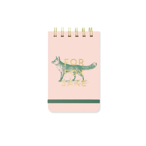 DesignWorks Ink - Purse Note Pad - For Fox Sake