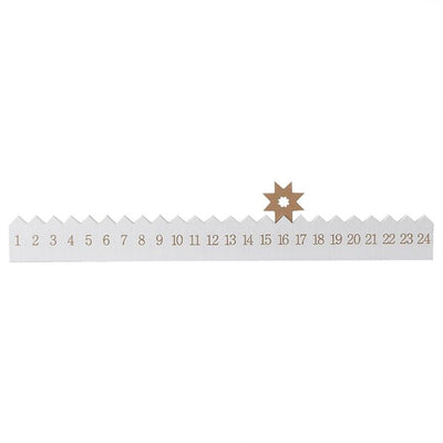 Ginger Ray - Wooden Star Reusable Advent Calendar