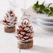 Ginger Ray - Pine Cone Christmas Place Card Holders