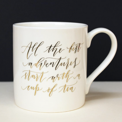 Imogen Owen - All the best adventures start with a cup of Tea Mug