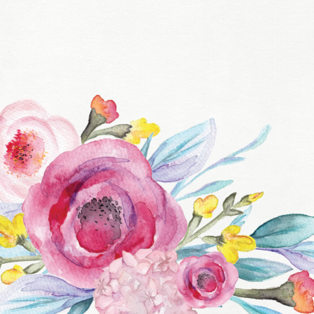 13th Feb 12.30-3pm Galentine's Day -  //INTRODUCTION TO WATERCOLOUR ILLUSTRATION ONLINE CLASS//