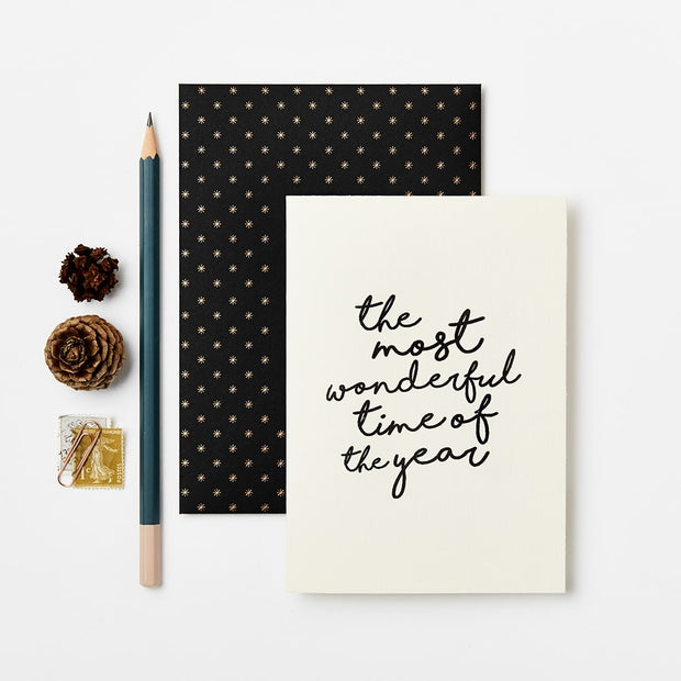 Katie Leamon - The Most wonderful time of the year Set of 8 Cards