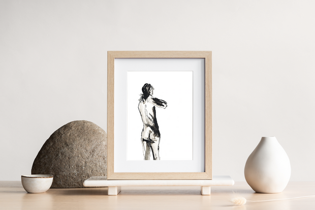 // Limited Edition // Male Life Drawing Art print - TLPS House Collection