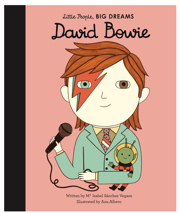 Bookspeed - Little People Big Dreams - David Bowie