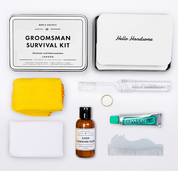 MEN'S SOCIETY - Groomsman Survival Kit