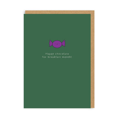 Ohh Deer - Chocolate For Breakfast Month Enamel Pin Greeting Card
