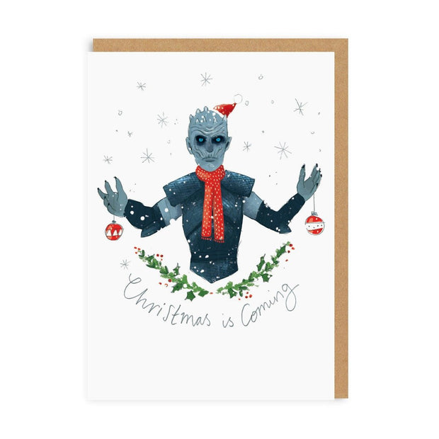 Ohh Deer - Christmas Is Coming Greeting Card