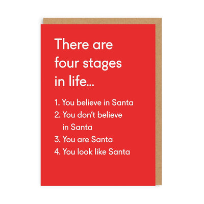 Ohh Deer -  Four Stages In Life Greeting Card
