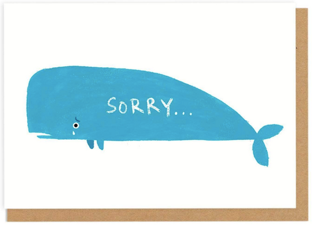 Ohh Deer - 'Sorry' Greetings Card