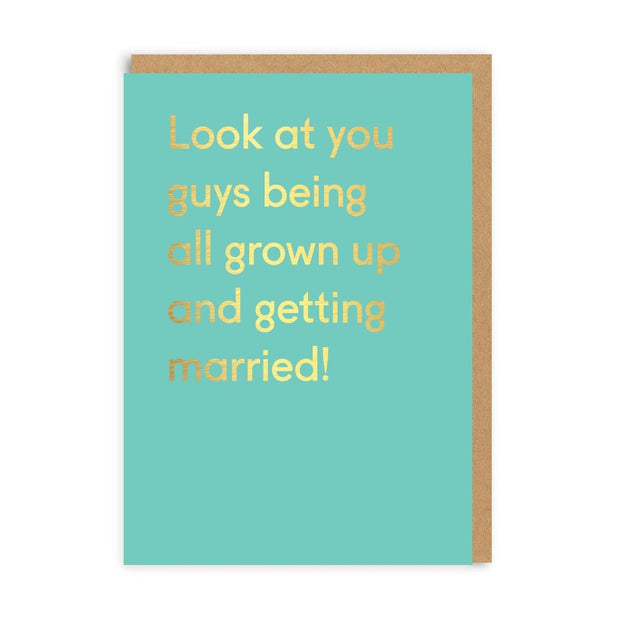 Ohh Deer - 'Look At You Guys' Greetings Card