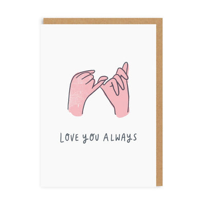 Ohh Deer - 'Love you always' Greetings card