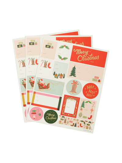 Rifle Paper Co. - Deck the Halls Christmas Gift Stickers