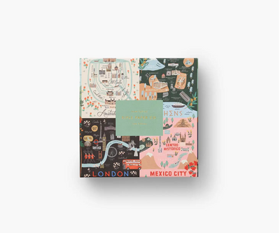 Rifle Paper Co. - Maps Jigsaw Puzzle