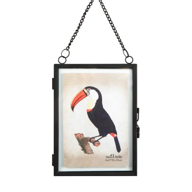 SASS & BELLE - Monochrome Black Hanging Photo Frame