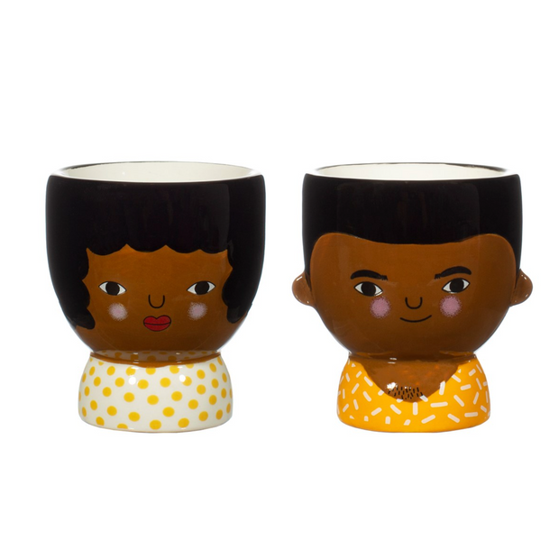 Sass & Belle - Chantelle and Ezra Egg Cups Set of 2
