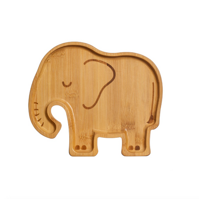 Sass & Belle - Elephant Bamboo Plate