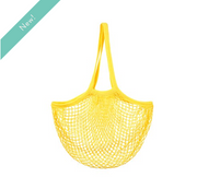 Sass & Belle - Mustard Yellow String Shopper Bag