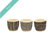 Sass & Belle - Scandi Boho Mini Cement Planters (Set of 3)