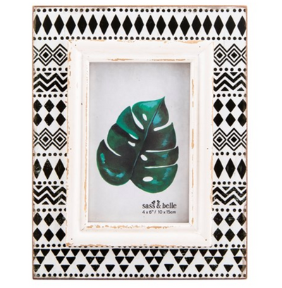 Sass & Belle - Scandi Boho Geo Photo Frame