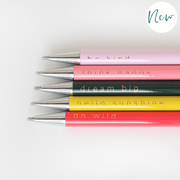 Caroline Gardner - Slogan Set of 5 Pens