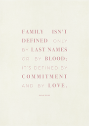 TLPS - Commitment and Love Quote Art Print