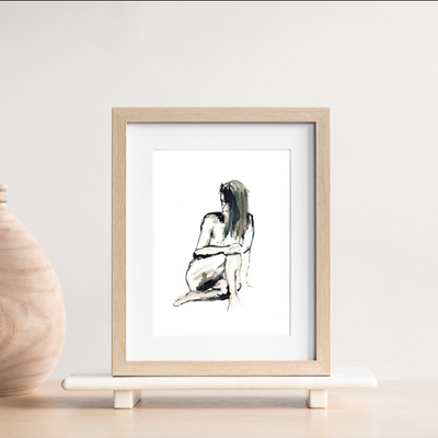 TLPS - Female Life Drawing Art print (Limited Edition)