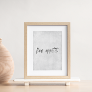 TLPS - 'Bon appetit' French Quote art print