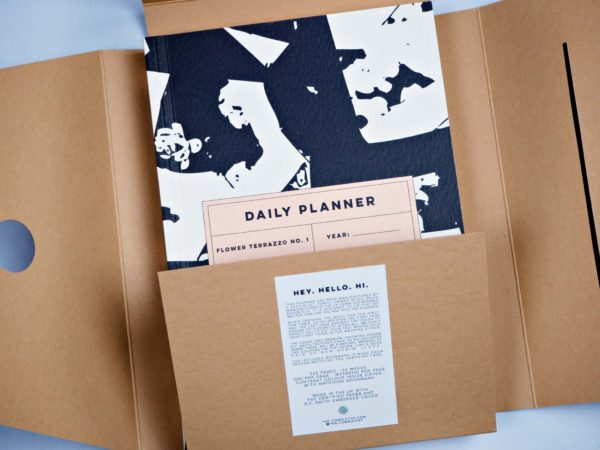 The Completist - Flower Terrazzo No.1 Daily Planner
