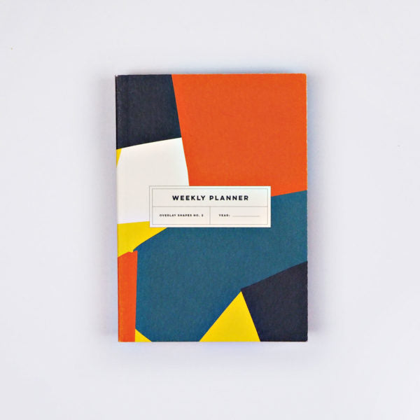 The Completist - Overlay Shapes No.2 Pocket Weekly Planner