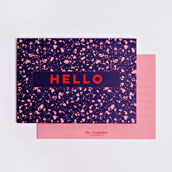 The Completist - Pink Blue Postcard Set