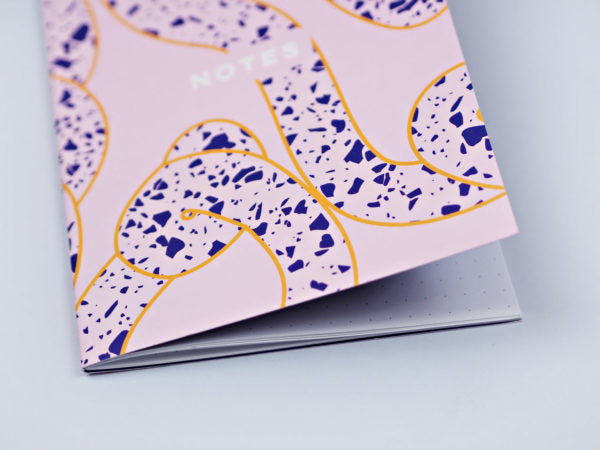 The Completist - Terrazzo Ropes Notebook