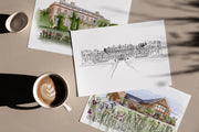 Custom Venue Illustration art prints - TLPS