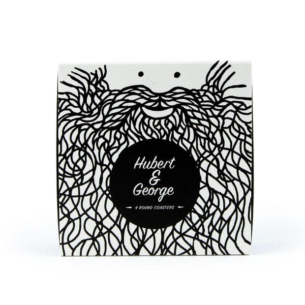 USTUDIO - 'Hubert & George' Coaster Set