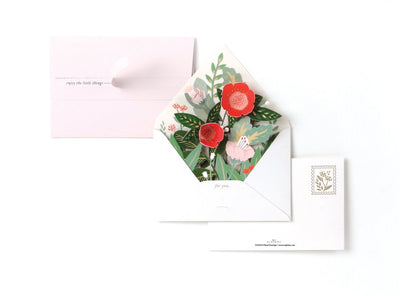 UWP Luxe - Floral Envelope