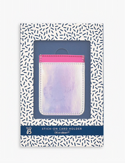 Busy B -  Stick-on card holder - Vibrant Vibes