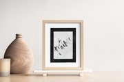 'Je t'aime' French Quote art print - TLPS House Collection