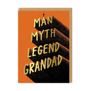 Ohh Deer - 'Legend Grandad' Greetings Card