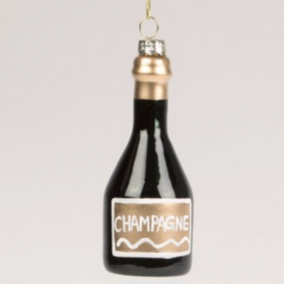 sass & belle - Champagne Bottle Bauble