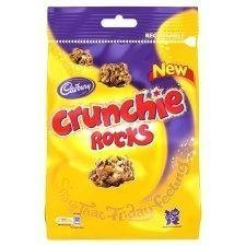 Cadbury Crunchie Rocks 145g - Pack of 6 by Cadbury [Foods]