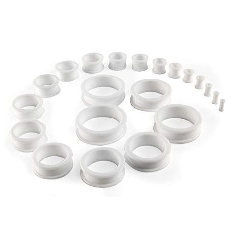 Phimostretch Phimosis Stretcher Rings Kit - Has 20 Rings from 3mm to 38 mm Included in Phimosis Stretching kit