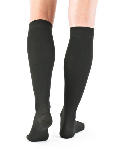 Neo G Knee High Compression Hosiery (Open Toe)   X Large   Beige   Medical Grade True Graduated Comp