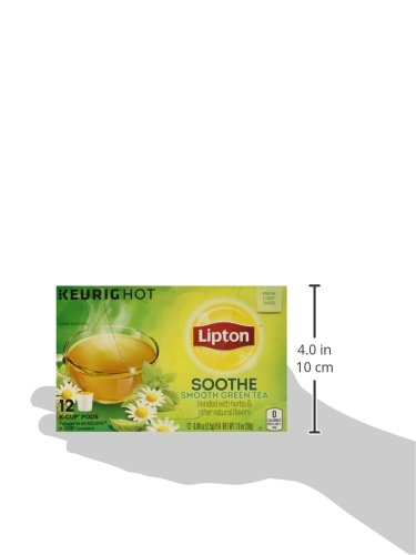 Lipton K-Cup Green Tea K-Cups Soothe Green tea 12 ct - Pack of 6