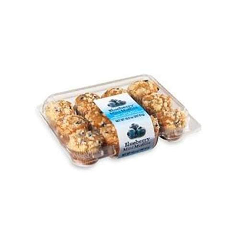 Multifoods Blueberry Mini Muffin, 6.56 Pound -- 1 each.