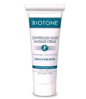 Biotone Controlled-Glide Massage Creme, 7 Ounce