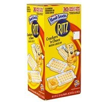 Kraft Crackers 'n Cheez, 0.95 oz, 30-Count (Pack of 3)