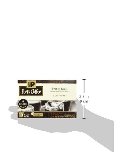 Peet's Coffee French Roast - 5 Boxes of Single Cups