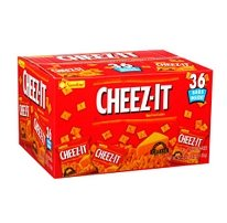 Cheez-It Baked Snack Crackers, 1.5 oz, 36-Count (Pack of 3)